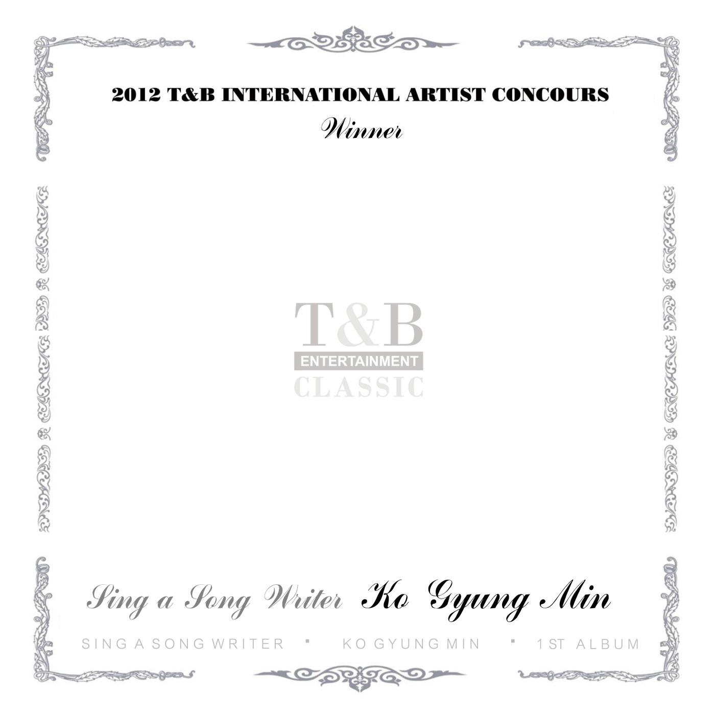'1st T&B'_싱어송라이터 고경민.jpg
